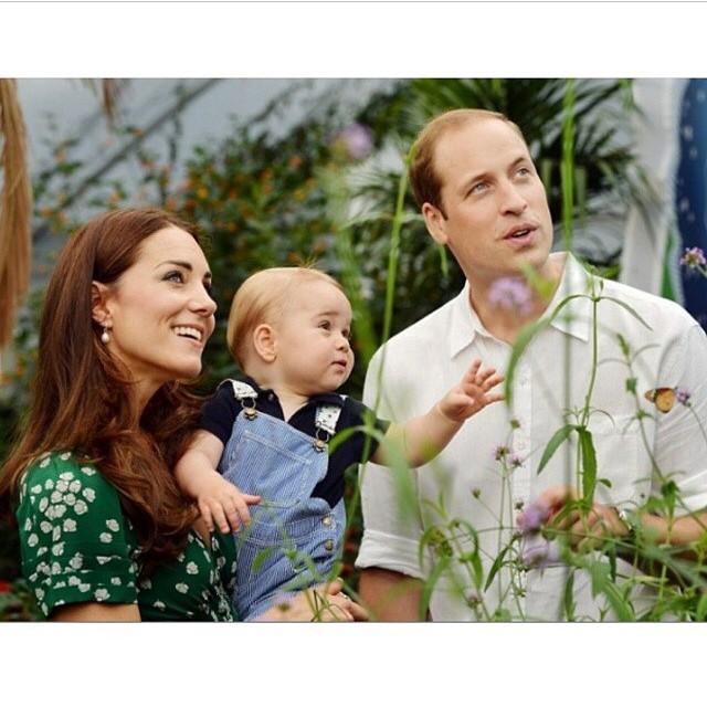 A família real britânica anunciou hoje que #katemiddleton está grávida do segundo filho! Mais um bebê lindo! ?