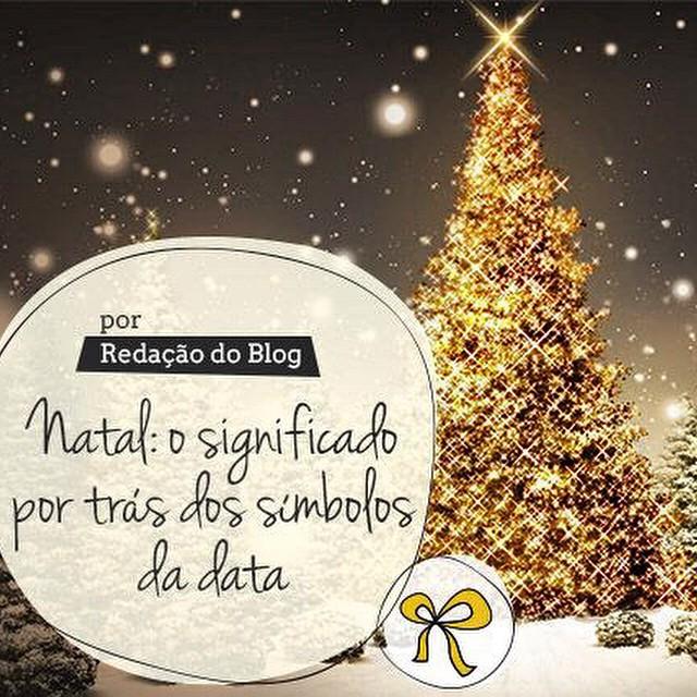 Vocês sabem explicar os significados dos símbolos de Natal para as crianças? Hoje, lá no blog, tem a explicação dos principais símbolos! ??? www.vestidademae.com.br