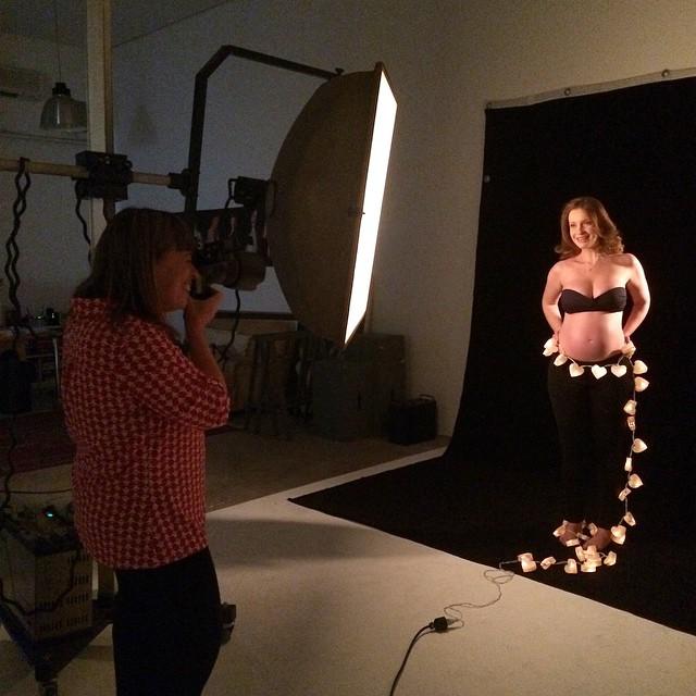 Hoje é dia de sessão de fotos no estúdio da @fernandasa! Louca para ver o resultado! ?