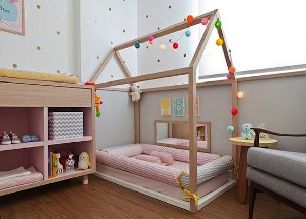 Como montar um quarto montessoriano Vestida de Mãe  ~ Quarto Montessoriano Tapete