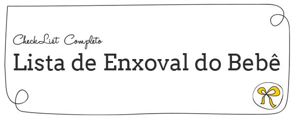 ChecklIst-Enxoval