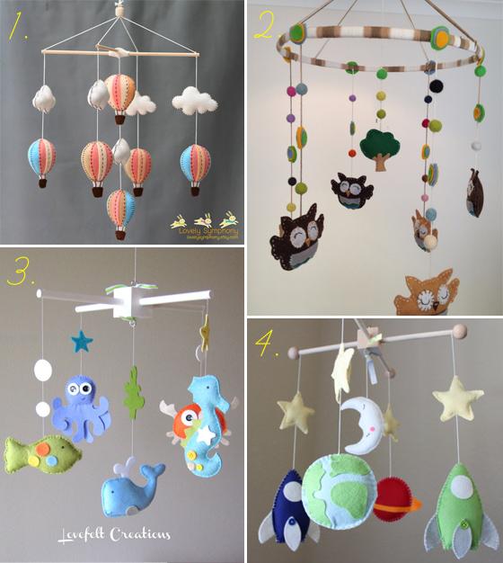 Artesanato Mobile Infantil Passo A Passo ~ Móbile para Berço Vestida de M u00e3e Blog sobre Gravidez, Maternidade e Beb u00eas por Fernanda Floret