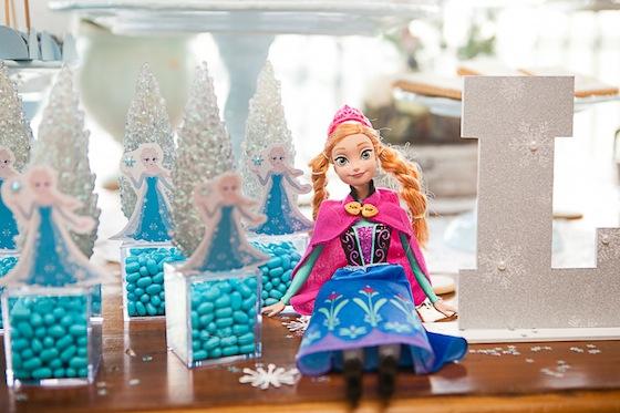 Festa Infantil Frozen Vestida De Mãe Blog Sobre Gravidez